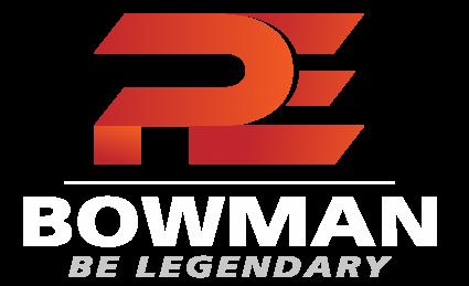 PE Bowman: Be Legendary Logo